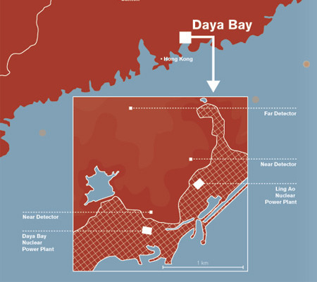 Daya Bay Map