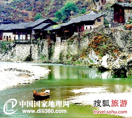 Ningchang Ancient Salt Town, one of the 'Top 5 salt cities with over 1000-year histories in China' by China.org.cn