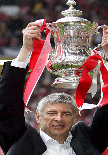 Arsène Wenger, one of the 'Top 10 highest-paid football managers of 2011' by China.org.cn