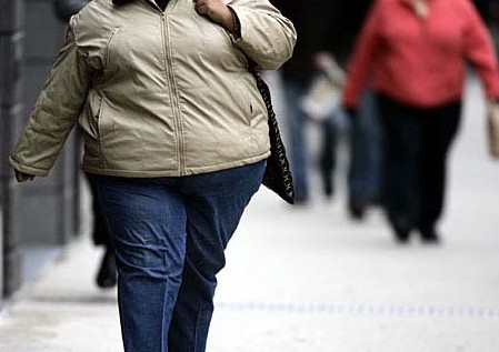 File photo: More than 200 million Chinese are overweight and another 60 million are obese.