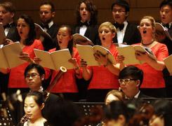 Int'l Festival Chorus performs Bach's St John Passion