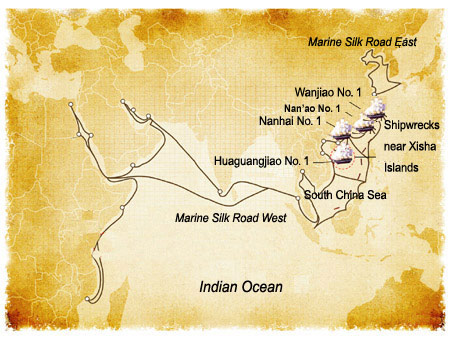 Search For Ancient Treasure Ships China Org Cn