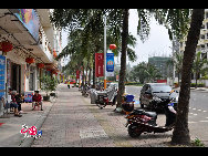Street view of Boao Town. [Wang Zhiyong/China.org.cn]