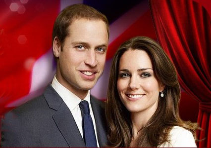 File photo: Prince William and Kate Middleton