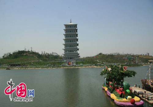 Xi'an International Horticultural Exposition 2011, one of the 'Top 8 May destinations in China' by China.org.cn