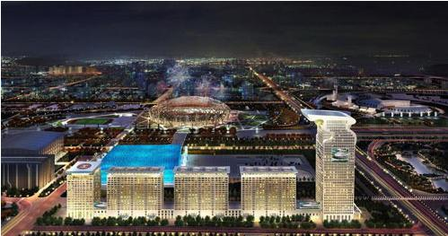 Pangu Plaza, one of the 'Top 10 most luxurious houses in China 2011' by China.org.cn