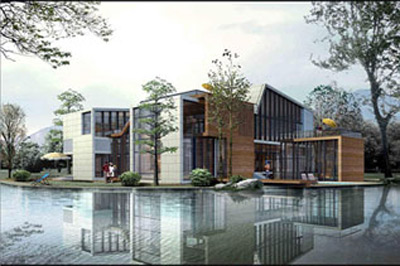 The World, one of the 'Top 10 most luxurious houses in China 2011' by China.org.cn