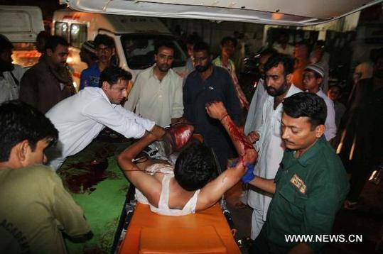 Five people killed, 50 injured in Karachi blast