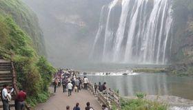 Huangguoshu Waterfall enters high flow period
