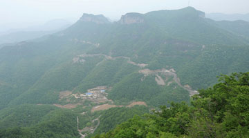 Amazing scenery of Yuntai Mountain
