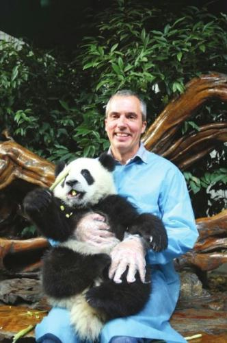 With the dreamworks animation 'Kungfu Panda 2' soon to hit Chinese screens, art director Raymond Zibach and his team have arrived in China's Sichuan province... to explore the hometown of real pandas.