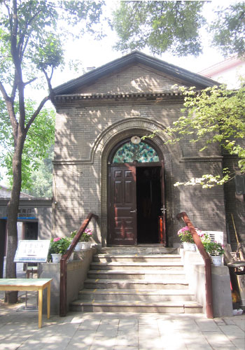 The Chongwen Methodist Church was rebuilt by the Qing government following the Boxer Rebellion. [Photo:CRIENGLISH.com]