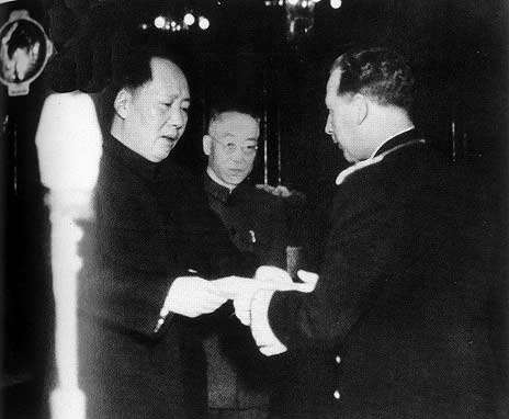 New China adopted an independent foreign policy of peace. It sought to develop relations with foreign governments and to make friendly contacts with foreign peoples on the basis of equality.