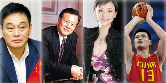 Top richest people of Shanghai 2011