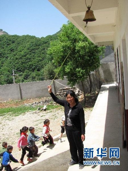 Zou Guifen now teaches all 16 students at the school.