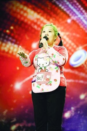 Cai Hongping, China's Susan Boyle sang Chinese version of Nessun Dorma.