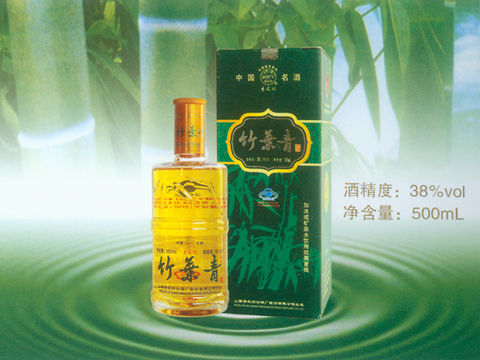 Green Bamboo Leaf Liquor, one of the 'Top 10 Chinese wines' by China.org.cn.
