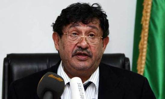Chairman of the executive board of Libya's National Transitional Council Mahmoud Jibril