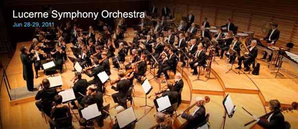 Lucerne Symphony Orchestra Concert @ NCPA