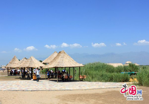 Yinchuan,one of the 'Top 8 July destinations in China' by China.org.cn.