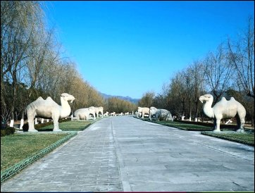 The Ming Dynasty Tombs