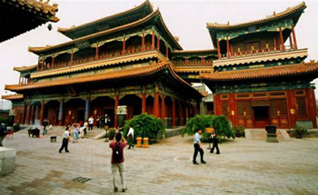 Lama Temple Beijing (Yonghegong), or Palace of Peace and Harmony Lama Temple or Yonghegong Lamsery