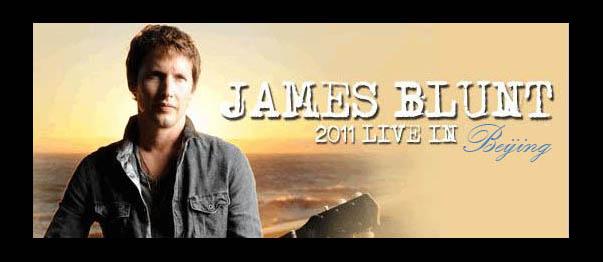 James Blunt - World Tour 2011, Beijing