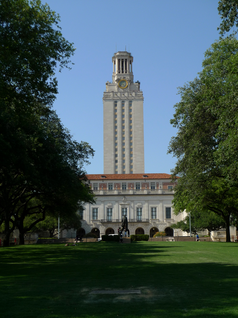 The Campus Of The University Of Texas At Austin (UT). Founded In 1883