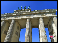 The Brandenburg Gate. [Zhang Fang/China.org.cn]