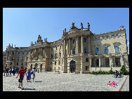The Humboldt University is Berlin's oldest university, founded in 1810 as the University of Berlin by educational reformer and linguist Wilhelm von Humboldt. [Zhang Fang/China.org.cn]