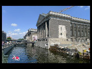 Museumsinsel (Museum Island). Granted UNESCO National Heritage Site status in 1999, Berlin's Museum Island was designed to be 'a sanctuary of art and science.&#8221; [Zhang Fang/China.org.cn]