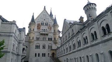 Neuschwanstein Castle: a fairy tale castle