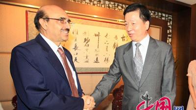 CIPG president meets Pakistani ambassador