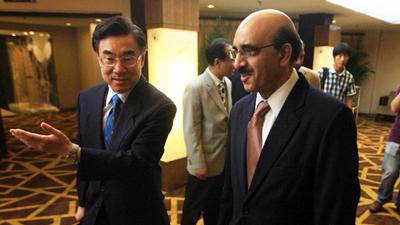 CIPG vice president meets Pakistani ambassador