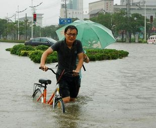 Torrential rain pounds E. China's province