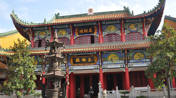 Baotong temple in Wuhan 