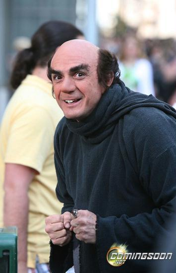 Hank Azaria, actor as 'Gargamel'.