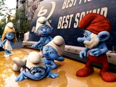 Smurfs back in 3D film