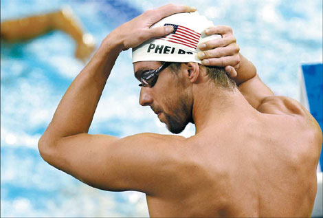 Phelps looks for spirit of 2008