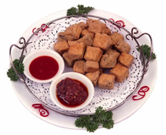Stinky tofu, one of the top 50 world's most delicious foods by China.org.cn.