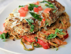 Chicken parm, one of the top 50 world's most delicious foods by China.org.cn.