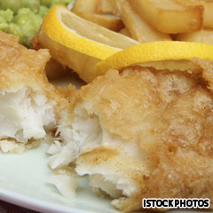 Fish 'n' chips, one of the top 50 world's most delicious foods by China.org.cn.