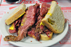 Montreal-style smoked meat, one of the top 50 world's most delicious foods by China.org.cn.
