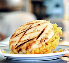 Arepas, one of the top 50 world's most delicious foods by China.org.cn.