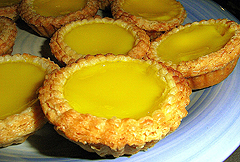 Egg tart, one of the top 50 world's most delicious foods by China.org.cn.