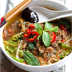 Penang assam Iaksa,one of the top 50 world's most delicious foods by China.org.cn.