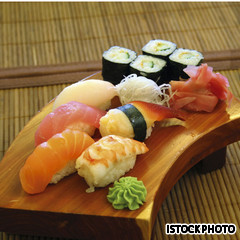Sushi, one of the top 50 world's most delicious foods by China.org.cn.