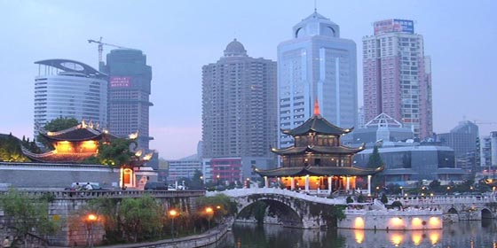 Top 10 beautiful cities in China 2011