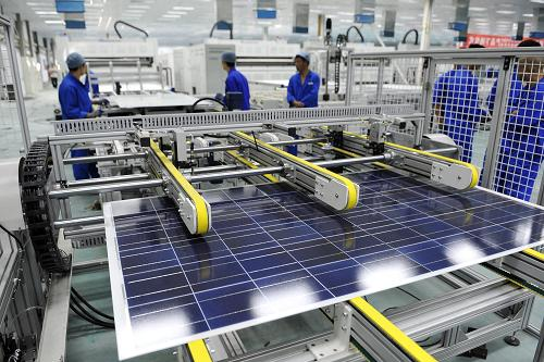 Yinxing Energy finishes a 320-mw photovoltaic product