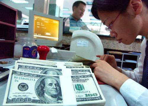 how to adjust in foreign bank balance on year end